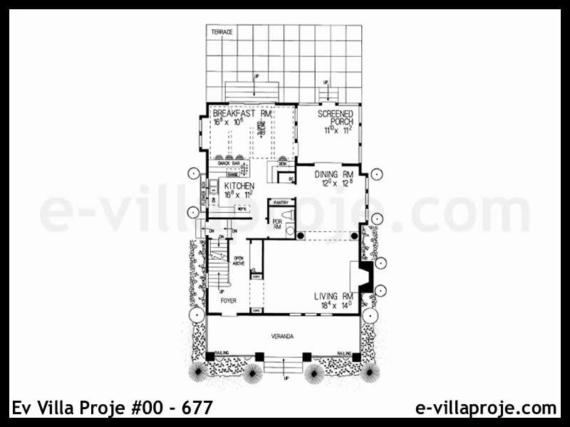 Ev Villa Proje #00 – 677