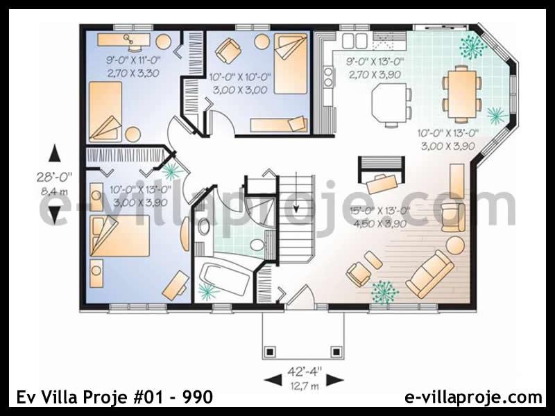 Ev Villa Proje #01 – 990