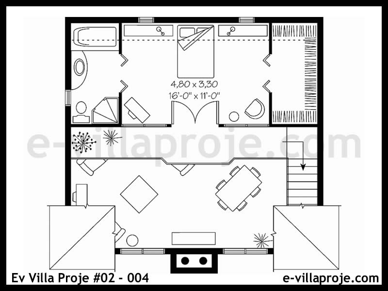 Ev Villa Proje #02 – 004