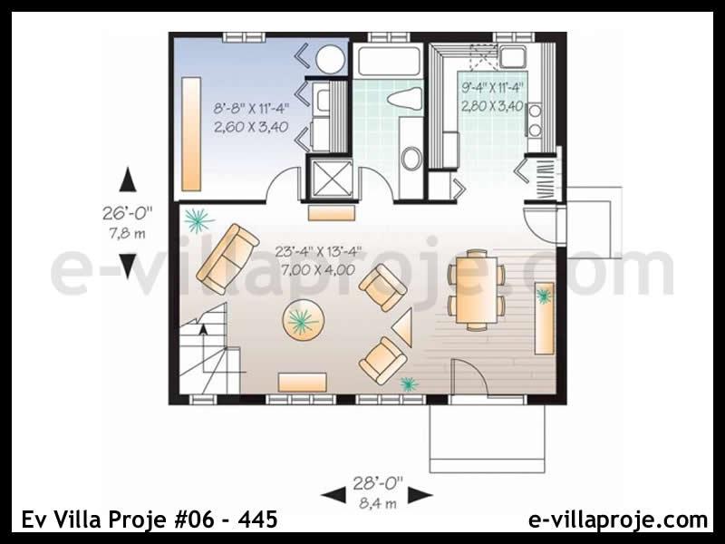 Ev Villa Proje #06 – 445