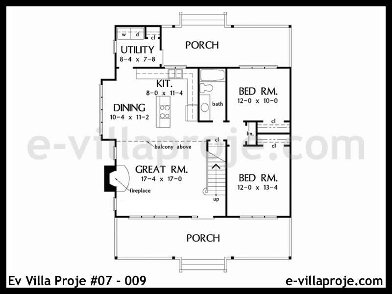 Ev Villa Proje #07 – 009