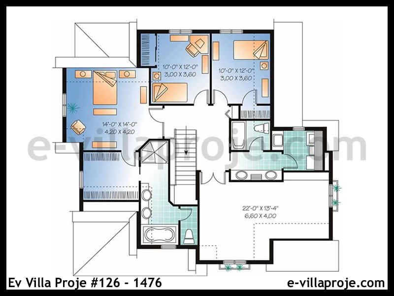 Ev Villa Proje #126 – 1476