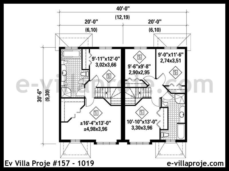 Ev Villa Proje #157 – 1019
