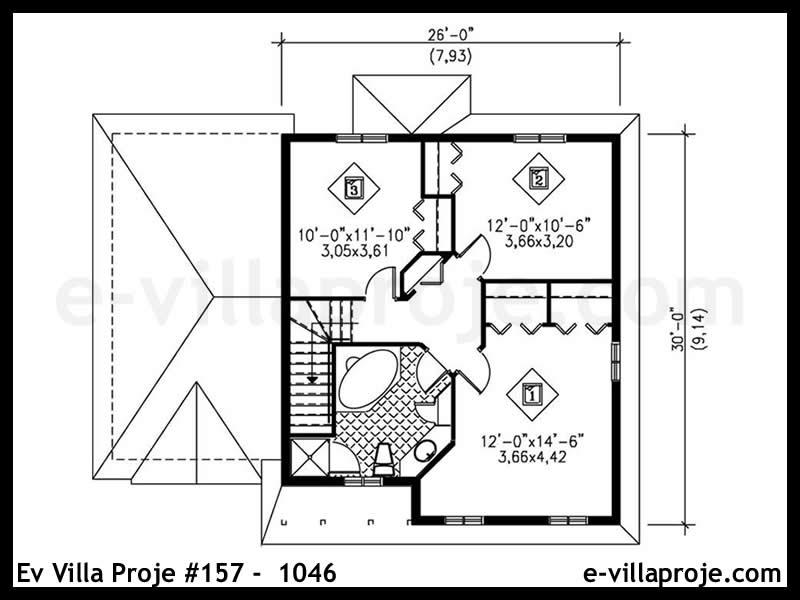 Ev Villa Proje #157 – 1046
