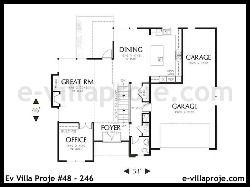 Ev Villa Proje #48 – 246