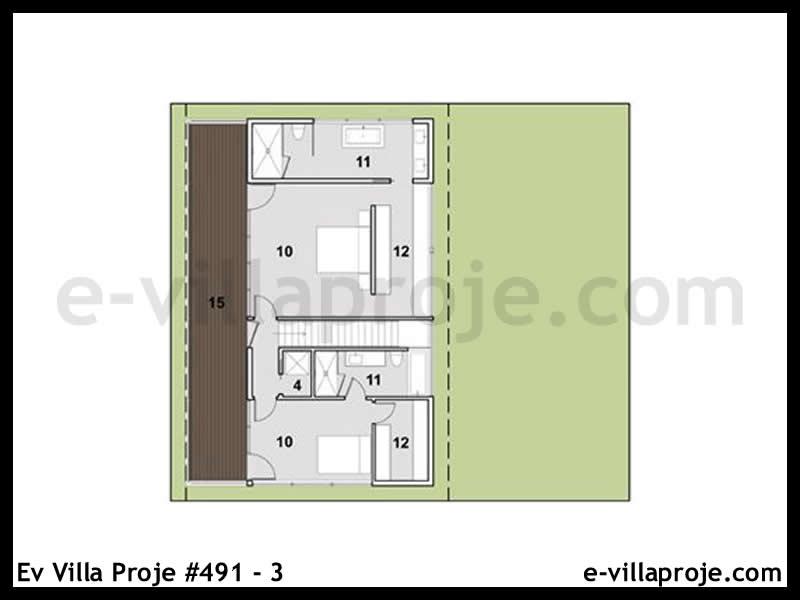 Ev Villa Proje #491 – 3