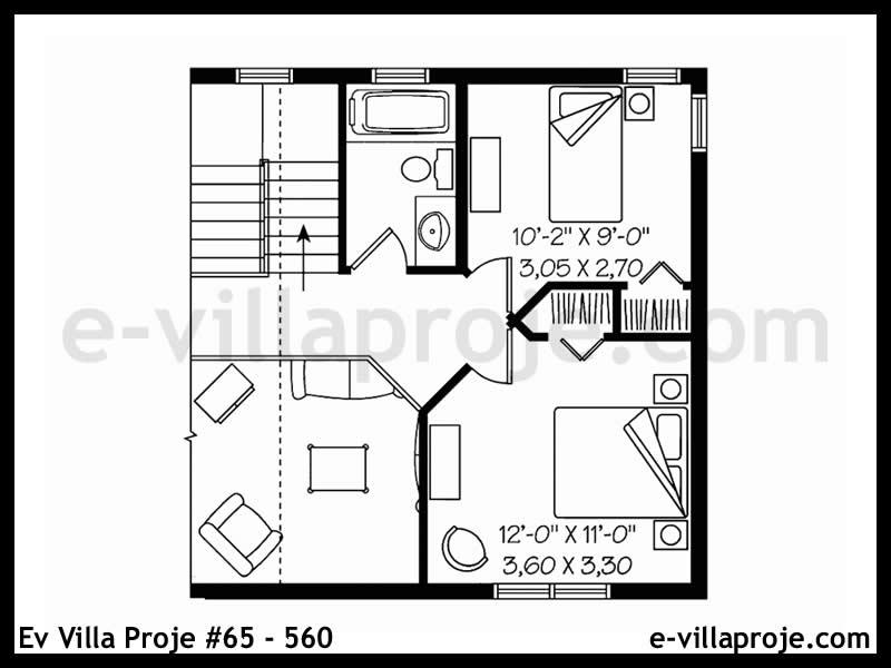 Ev Villa Proje #65 – 560