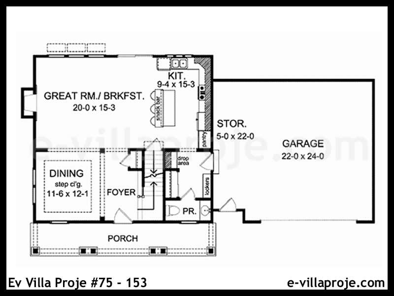 Ev Villa Proje #75 – 153
