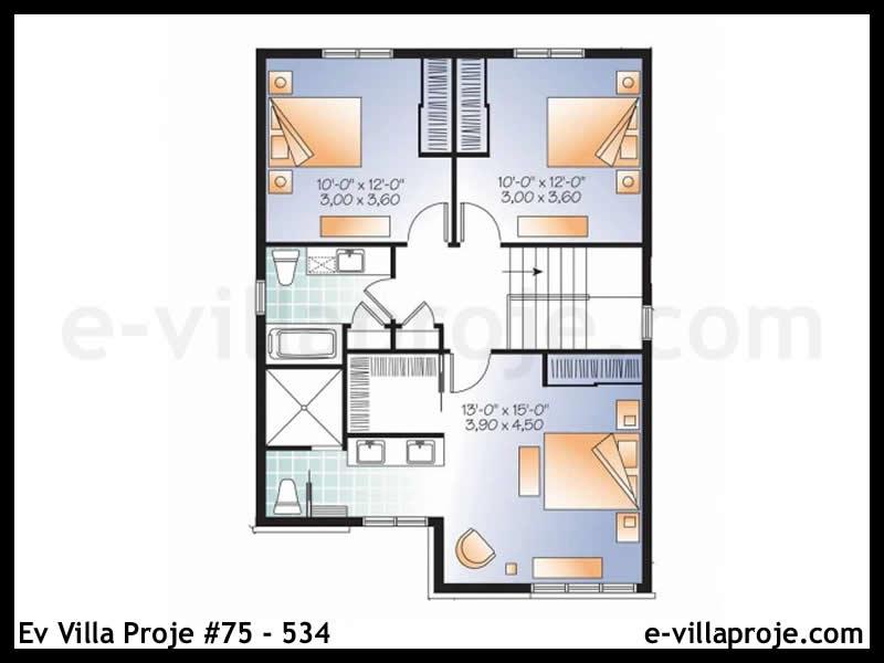 Ev Villa Proje #75 – 534
