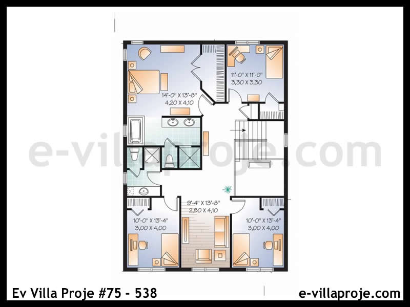 Ev Villa Proje #75 – 538