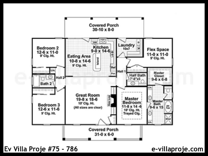 Ev Villa Proje #75 – 786