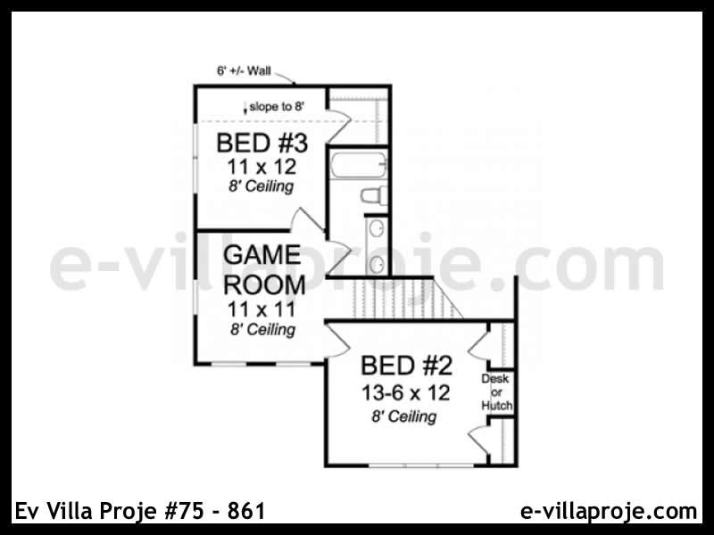 Ev Villa Proje #75 – 861